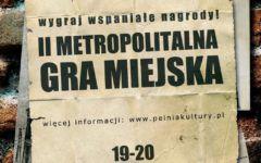 II Gra Miejska Dzisiaj w Gliwicach