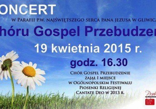 Koncert gospel w parafii p.w. Najświętszego Serca