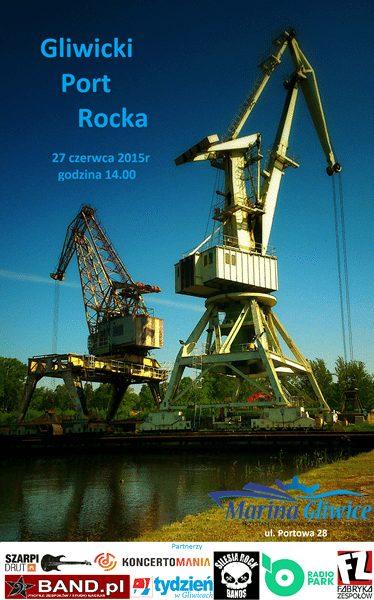 Gliwicki port Rocka - plakat