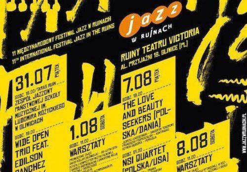 """Rusza 11. Międzynarodowy Festiwal """"Jazz w Ruinach""""!"""