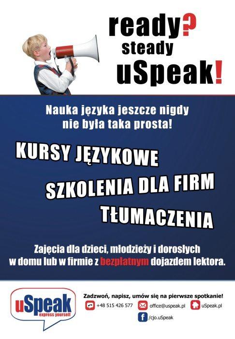 plakat uSpeak mniejszy1