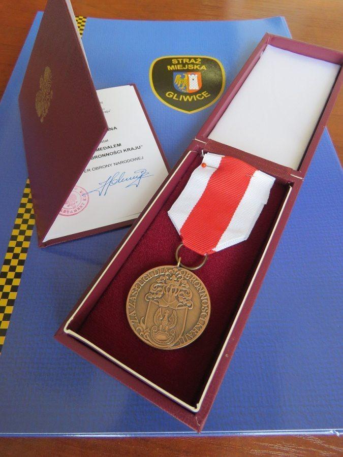 medal_straz_miejska_gliwice
