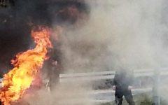 14-latek podłożył ogień pod namiot bezdomnej