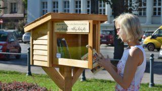 Pierwsza biblioteczka plenerowa w Gliwicach