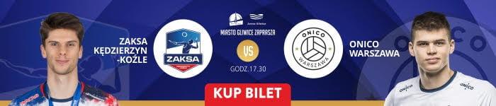 Superpuchar Polski 2019 w Piłce Siatkowej Mężczyzn. Mecz Grupa Azoty ZAKSAKędzierzyn Koźle vs Onico Warszawa