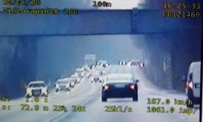 O ponad 100 km/h przekroczył prędkość na DK88 [wideo]