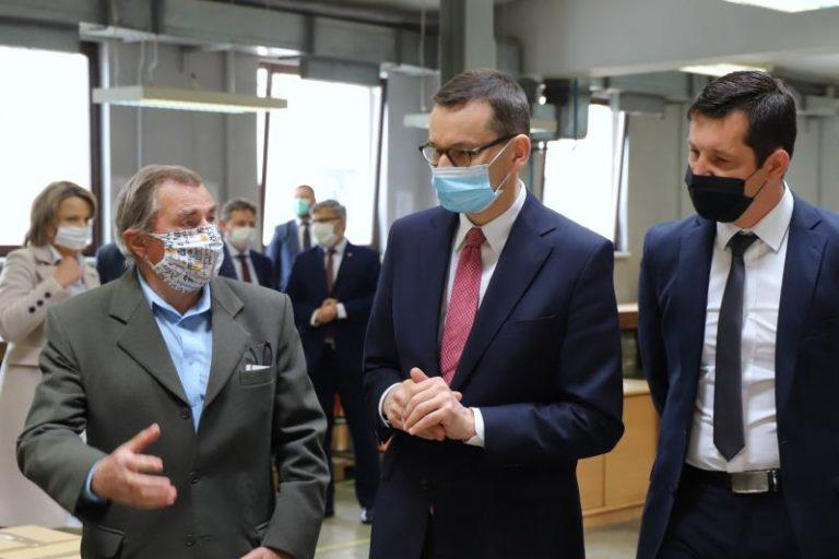 Premier w Gliwicach. Rozmawiał z przedsiębiorcami