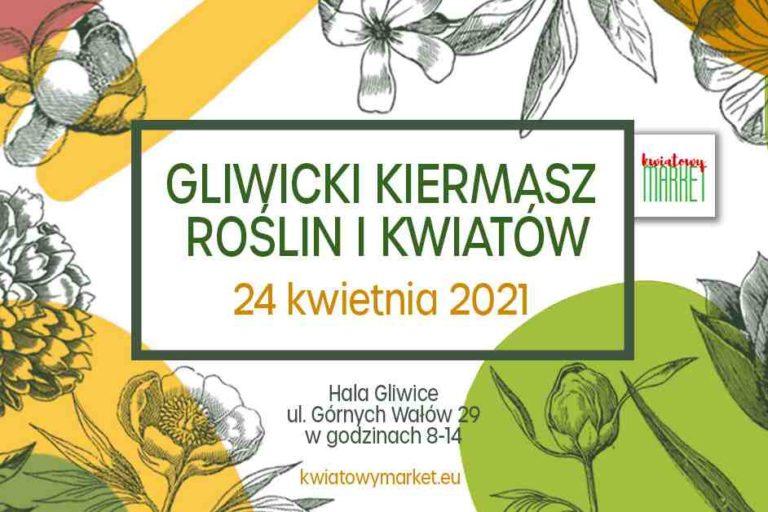 Gliwicki Kiermasz Roślin i Kwiatów już w sobotę 24 kwietnia!