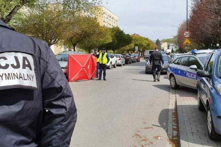Strzelanina podczas zatrzymania. Policjant zginął na miejscu