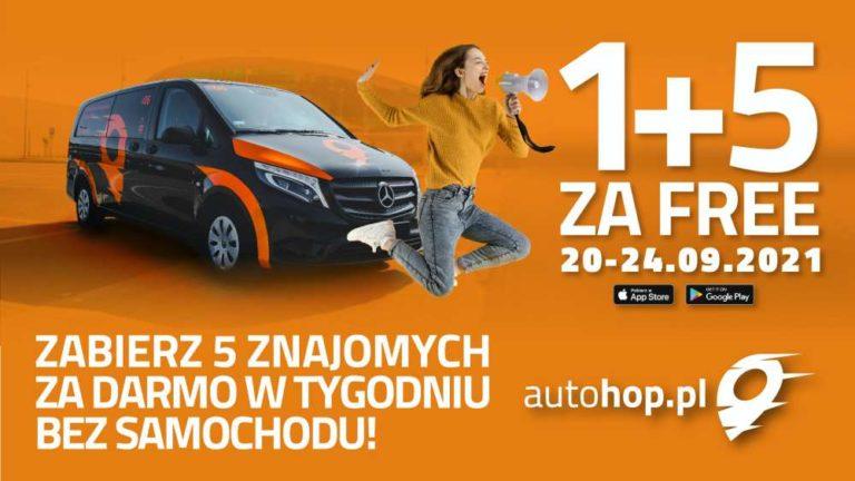 Specjalna oferta AutoHOP-a na Tydzień Bez Samochodu i nie tylko